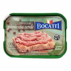 Pate con Pimienta Verde Bocatti x 90 g.
