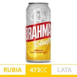 Cerveza Brahma Lata x 473 cc.