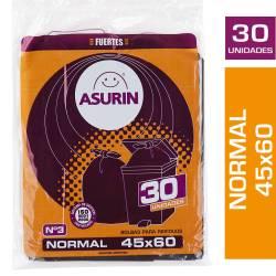 Bolsa para Residuos Asurin 45x60cm x 30 un.