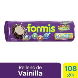 Galletitas Chocolate Formis Rellenas con Vainilla x 108 g.