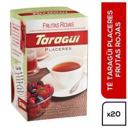 Té en Saquitos Taraguí Frutos Rojos Ensobrados x 20 un.