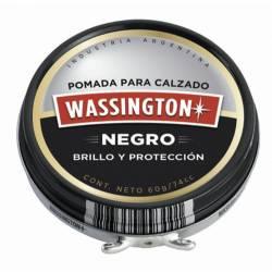 Pomada Crema Wassington Negra x 60 cc.