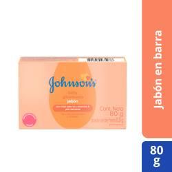Jabón Tocador Johnsons Baby Infantil Glicerinado x 80 g.