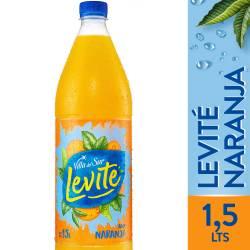 Agua sin gas Levité Naranja x 1,5 Lt.