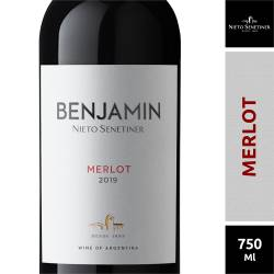 Vino Tinto Benjamín Merlot x 750 cc.