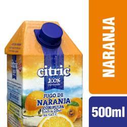 Jugo de Naranja con Pulpa Citric x 500 cc.