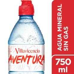 Agua Mineral sin gas Villavicencio Sport x 750 cc.