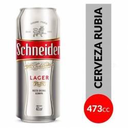 Cerveza Schneider Lata x 473 cc.