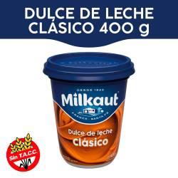 Dulce de Leche Milkaut x 400 g.