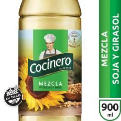 Aceite Mezcla Cocinero x 900 cc.