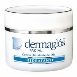 Crema Facial Hidratante Dermaglós Protectora de día x 50 g.