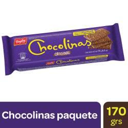 Galletitas Chocolate Chocolinas x 170 g.