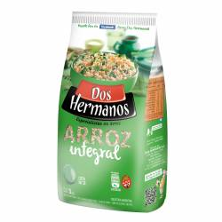 Arroz Integral Dos Hermanos Bolsa x 1 Kg.