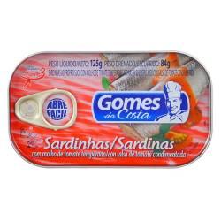 Sardinas en Salsa de Tomate Gomes Da Costa x 125 g.