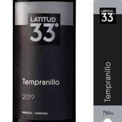 Vino Tinto Latitud 33 Tempranillo x 750 cc.