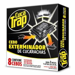 Insecticida Cebo para Cucarachas Cuca-Trap x 8 un.