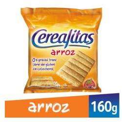 Galletas Arroz Cerealitas x 160 g.