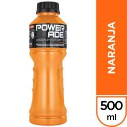 Bebida Powerade Naranja x 500 cc.