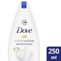 Jabón Líquido Dove Nutrición Profunda x 250 cc.