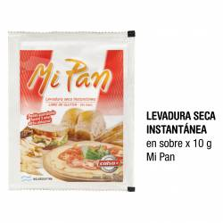 Levadura Seca Instantánea Calsa Mi Pan x 10 g.