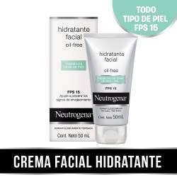 Crema Hidratante Neutrogena Oil Free - Todo tipo de piel x 50 cc.