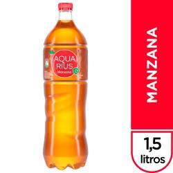 Agua sin gas Aquarius Manzana x 1,5 Lt.