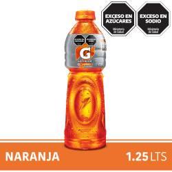 Bebida Gatorade Naranja Pet x 1,25 Lt.