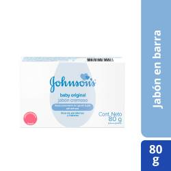 Jabón Tocador Johnsons Baby Infantil Original x 80 g.