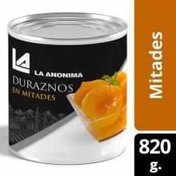 Duraznos en Mitades Premium La Anónima x 820 g.