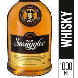Whisky Old Smuggler Añejo x 1 Lt.