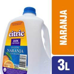 Jugo de Naranja con Pulpa Citric x 3 Lt.