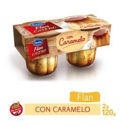 Flan Casero con Caramelo Sancor Vainilla x 2 un. 240 g.