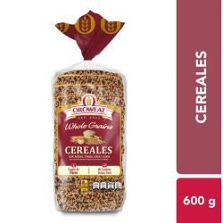 Pan Integral Oroweat Bimbo con Cereales x 600 g.