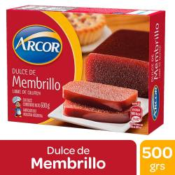 Dulce de Membrillo Arcor x 500 g.