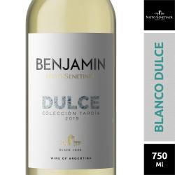 Vino Blanco Benjamín Dulce Natural x 750 cc.
