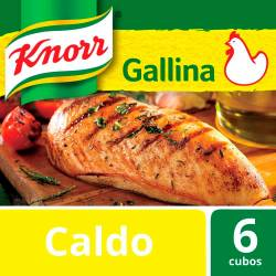 Caldo Knorr Gallina x 57 g.