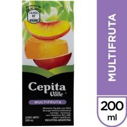 Jugo Natural Cepita Multifruta x 200 cc.