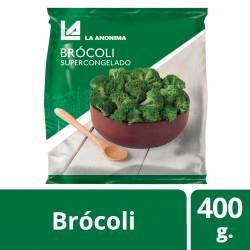Brócoli Supercongelado La Anónima x 400 g.