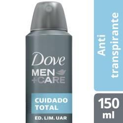 Antitranspirante Aerosol Dove Men Clean Comfort x 150 cc.