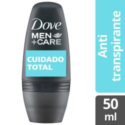 Antitranspirante Roll On Dove Men Clean Comfort x 50 cc.