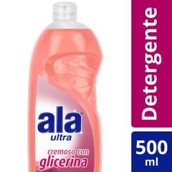 Detergente Líquido Ala Ultra Glicerina x 500 cc.