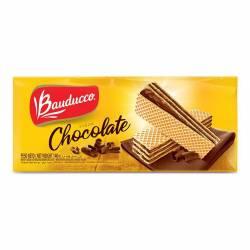 Galletitas Obleas Rellenas Bauducco con Chocolate x 140 g.