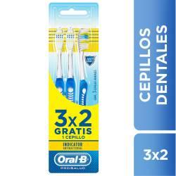 Cepillo Indicador Oral-B Antibacterial x 3 un.