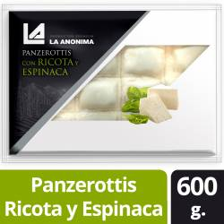 Panzerottis de Ricota y Espinaca La Anónima x 600 g.