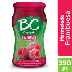 Mermelada La Campagnola BC Frambuesa x 390 g.