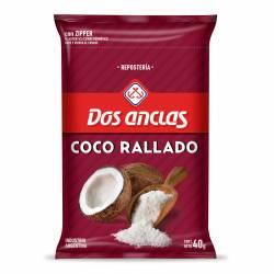 Coco Rallado Dos Anclas x 40 g.