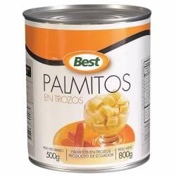 Palmitos en Trozos Best x 800 g.