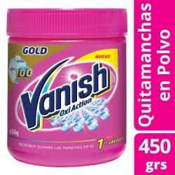 Quitamanchas Polvo Vanish Oxi-Gel Multiso Pote x 450 g.