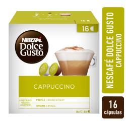 Café Tostado en Cápsulas Nescafé Dolce Gusto Capuccino x 8 un.