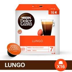 Café Tostado en Cápsulas Nescafé Dolce Gusto Lungo x 16 un.